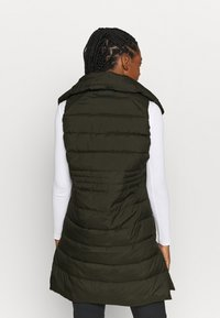 Didriksons - MY VEST - Waistcoat - forest green - 2