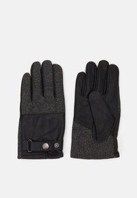 Pier One - Gloves - black/grey - 1