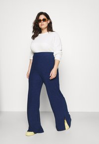 Simply Be - LIGHTWEIGHT JOGGER - Kalhoty - blue - 1
