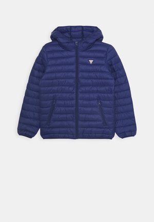 JUNIOR UNISEX PADDED PUFFER - Winter jacket - blue