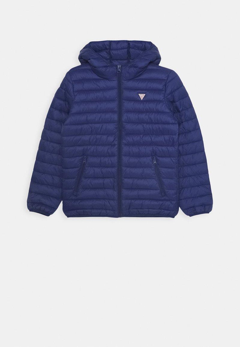 Guess - JUNIOR UNISEX PADDED PUFFER - Winter jacket - blue