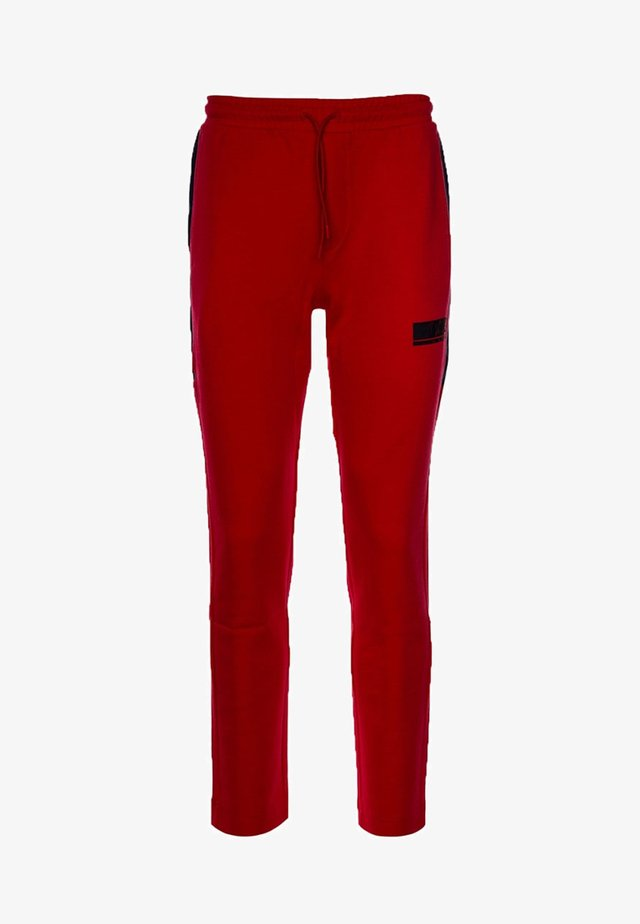 HALKO - Tracksuit bottoms - dark red
