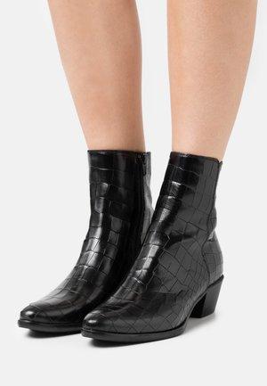 Kotníkové boty - nero