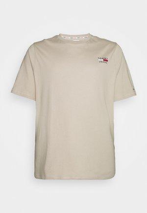 CHEST LOGO TEE - T-shirt basique - soft beige