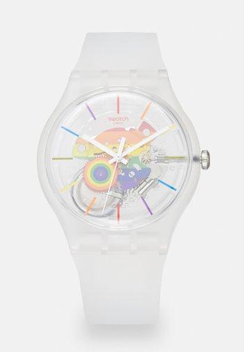 ALLA PARATA - Reloj - white