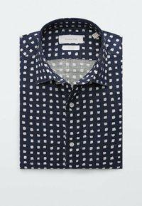 Massimo Dutti - SLIMFIT - Shirt - blue/black denim - 2