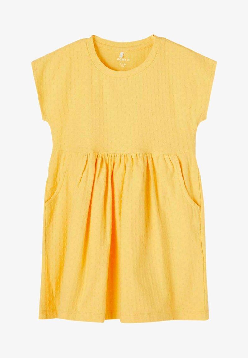 Name it - NMFDORTE - Jersey dress - sunset gold