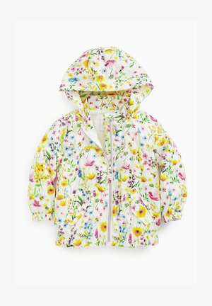 COLOURBLOCK DITSY CAGOULE - Light jacket - yellow