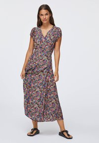 OYSHO - FLORAL  - Sukienka letnia - multi-coloured - 1