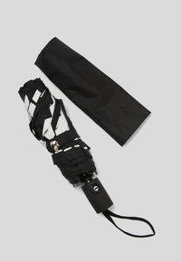 KARL LAGERFELD - Umbrella - black/ white - 1
