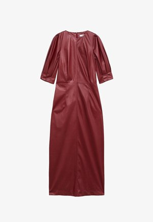VINO-I - Day dress - donkerrood