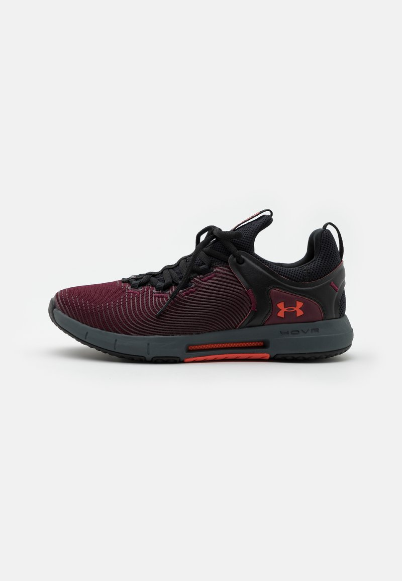 Under Armour - HOVR RISE 2 - Sports shoes - dark maroon