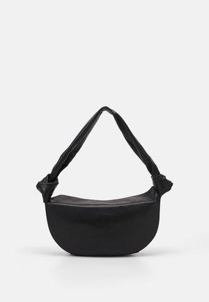 DOUBLE KNOT BAG - Handtas - black