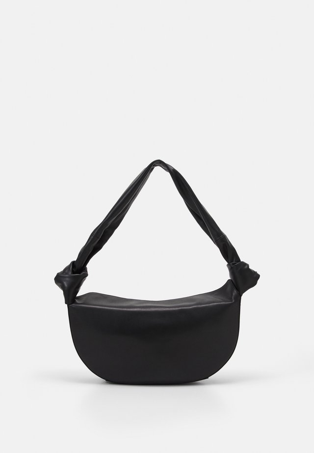 DOUBLE KNOT BAG - Käsilaukku - black