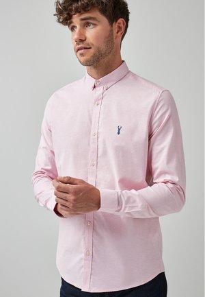 LONG SLEEVE STRETCH OXFORD - Košile - pink