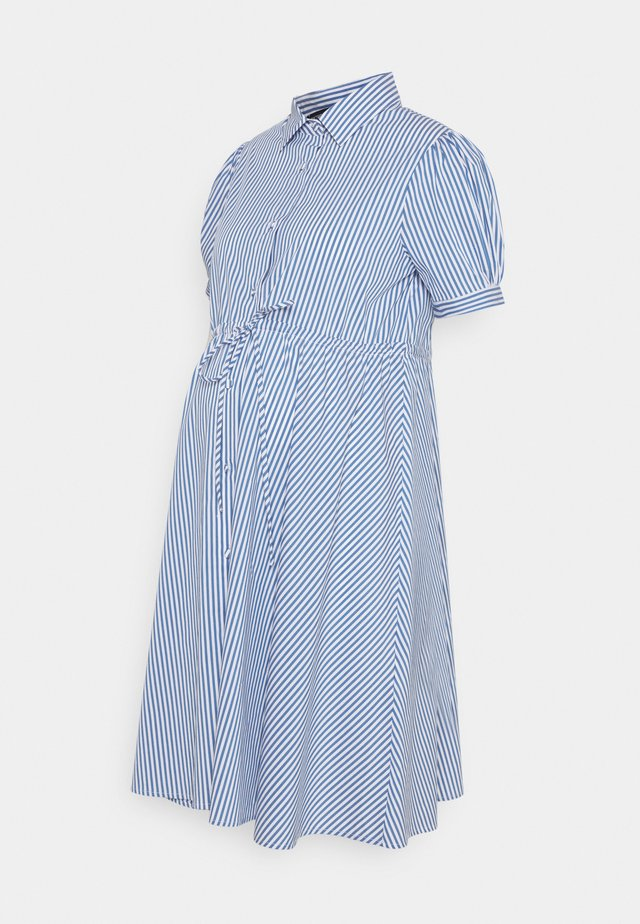 PRIMULA - Shirt dress - blue
