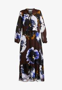 InWear - KALISTAIW LONG DRESS - Maxi dress - bitter chocolate - 3