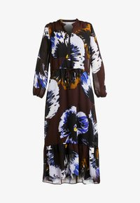 KALISTAIW LONG DRESS - Maxi šaty - bitter chocolate
