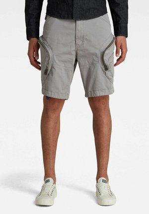 ROVIC AIRFORCE RELAXED - Shorts - charcoal gd