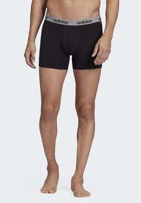 adidas Performance - BRIEFS 3 PAIRS - Panties - black - 0