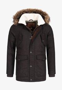 INDICODE JEANS - BAYNES - Winter coat - chocolate - 7