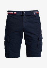 Tommy Hilfiger - JOHN BELT - Shorts - blue - 4