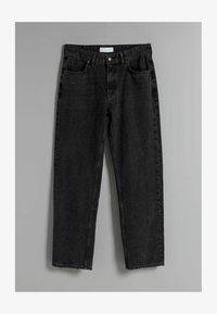 Bershka - Straight leg jeans - black - 4