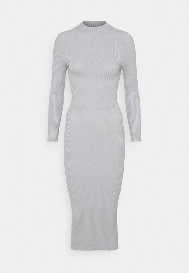 TIE BACK MIDAXI DRESS - Denní šaty - grey