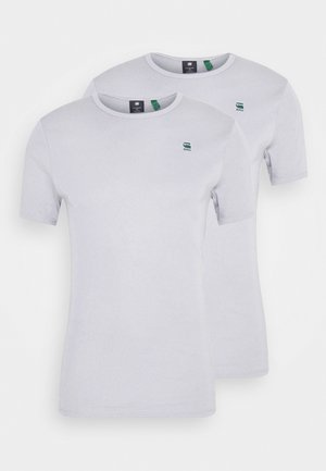 BASE 2 PACK - Basic T-shirt - steel grey