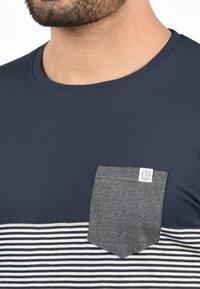 Solid - Print T-shirt - light gray - 2