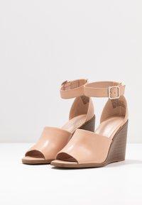 Madden Girl - GARLAND - High heeled sandals - dark nude - 4