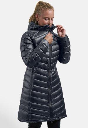 PEARTH - Down coat - black