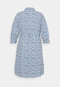 MY TRUE ME TOM TAILOR - SHIRT DRESS WITH BELT - Shirt dress - blue aquarelle - 6