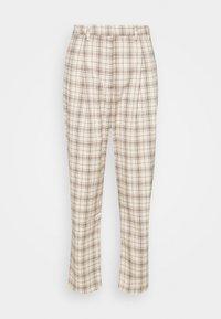 Monki - TYRA TROUSERS - Trousers - mini grid - 4