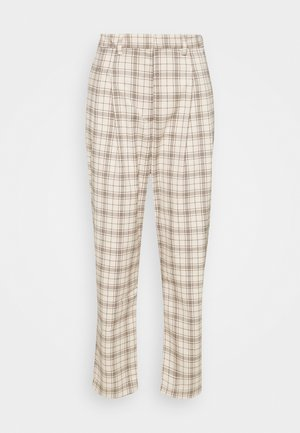 TYRA TROUSERS - Trousers - mini grid