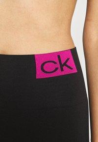 Calvin Klein Underwear - WOMEN LOGO MASON - Leggings - Stockings - black/pink - 2