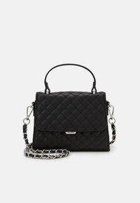 ALDO - KIBARA - Handbag - jet black/silver - 0