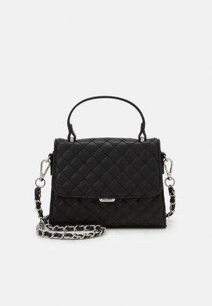 KIBARA - Handbag - jet black/silver