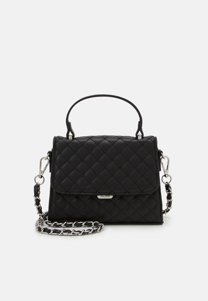 ALDO - KIBARA - Handbag - jet black/silver