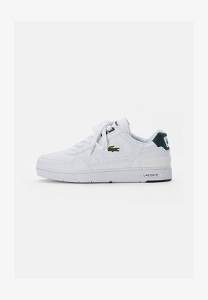 T-CLIP - Baskets basses - white/dark green
