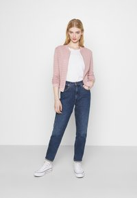 ONLY - ONLASTER BOMBER JACKET - Cardigan - adobe rose - 1