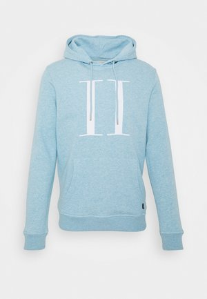 ENCORE HOODIE - Huppari - light blue/white