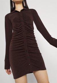 Gina Tricot - DOLLY DRESS - Jerseyklänning - coffee bean - 4