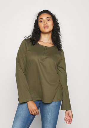 XCILLE - Long sleeved top - ivy green