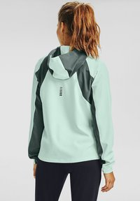Under Armour - OUTRUN THE STORM  - Sports jacket - seaglass blue - 1