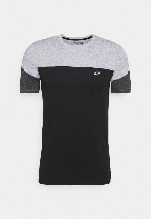 JCOMYLES TEE CREW NECK - Print T-shirt - light grey melange