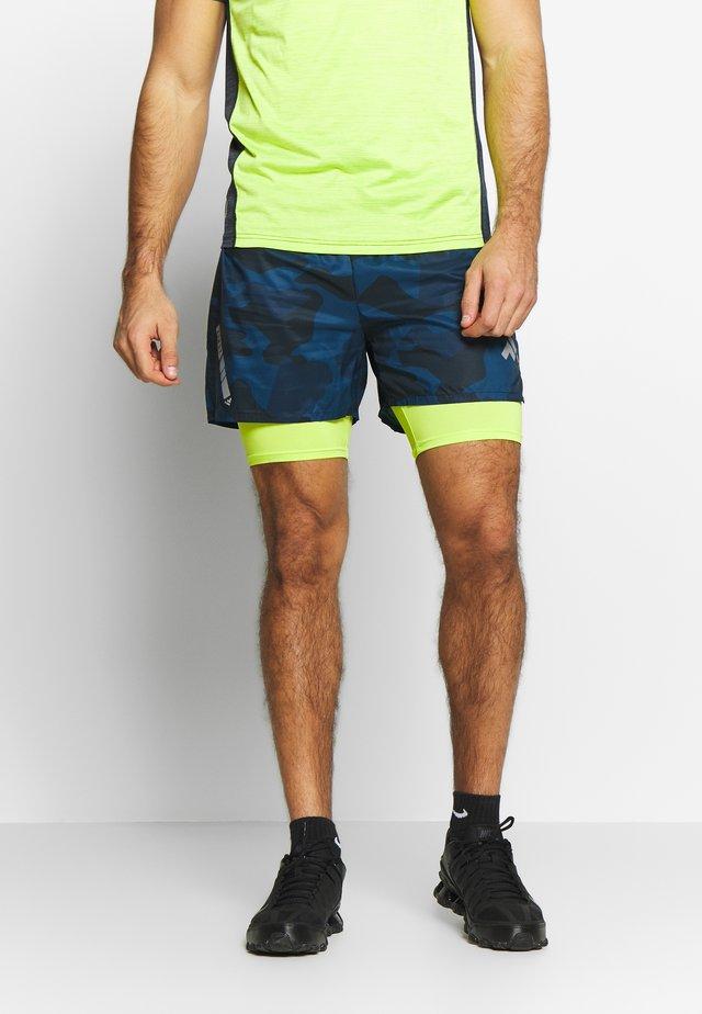 FRSDONALD PERFORMANCE SHORTS - Sports shorts - blue nights/azid lime