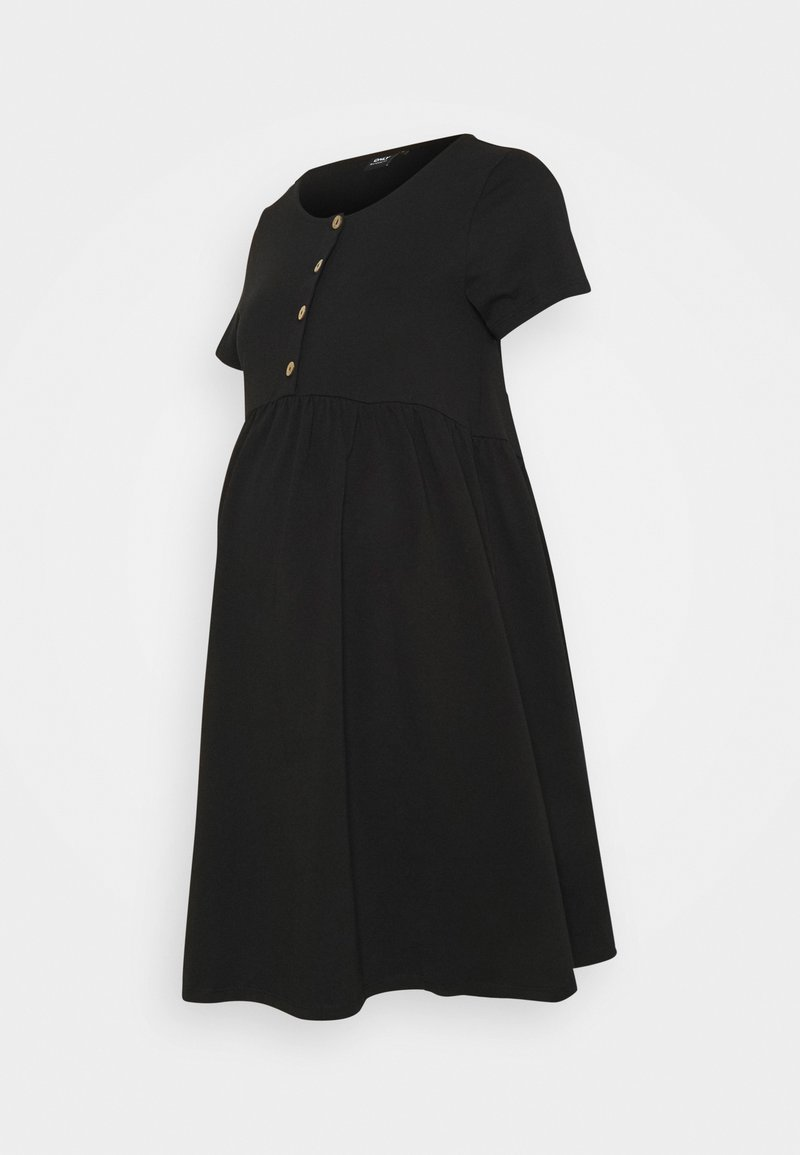 ONLY - OLMLILLI BADYDOLL DRESS - Jerseyjurk - black