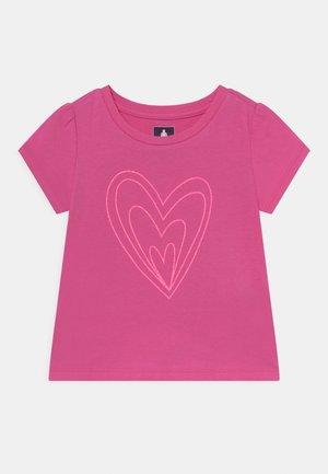TODDLER GIRL - T-shirt print - pink heart graphic