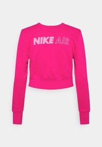 Nike Sportswear - AIR CREW  - Sweatshirt - fireberry/white - 6